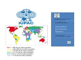 Guia IUPAC - Compostos Orgânicos