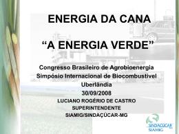 palestra energia verde