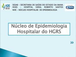 hospital geral roberto santos nhe-núcleo hospitalar de