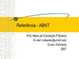 Referencias--ABNT