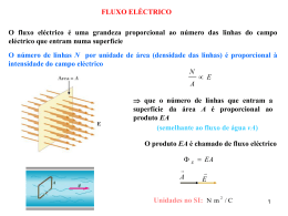 Fluxo eléctrico e Lei de Gauss