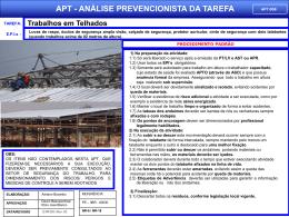 APT 08 - Trabalhos em Telhados