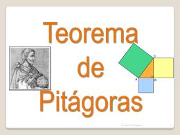 à descoberta do teorema de pitágoras