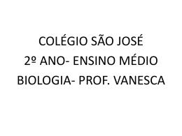 ARTRÓPODES - Colégio São José