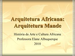 Arquitetura Africana: Arquitetura Mande