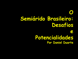 Slide 1 - Museu Interativo do Semiárido