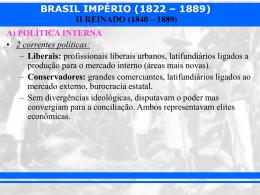 II REINADO (1840 – 1889)