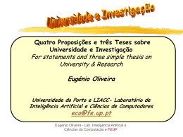 powerpoint - Universidade do Porto
