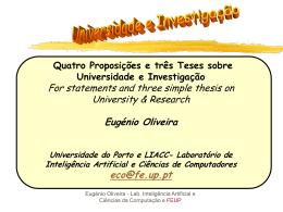 powerpoint - Universidade do Porto
