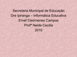 Histórias em quadrinhos - Secretaria Municipal de Educação