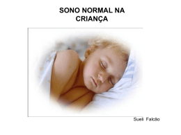 sono normal na criança - Paulo Roberto Margotto