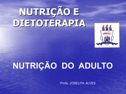 AVALIAÇÃO NUTRICIONAL ANTROPOMETRIA DE ADULTOS