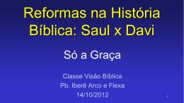 Reformas na História Bíblica