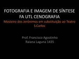 FOTOGRAFIA E IMAGEM DE SÍNTESE FA UTL CENOGRAFIA