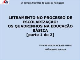 VII Jornada Científica do Curso de Pedagogia