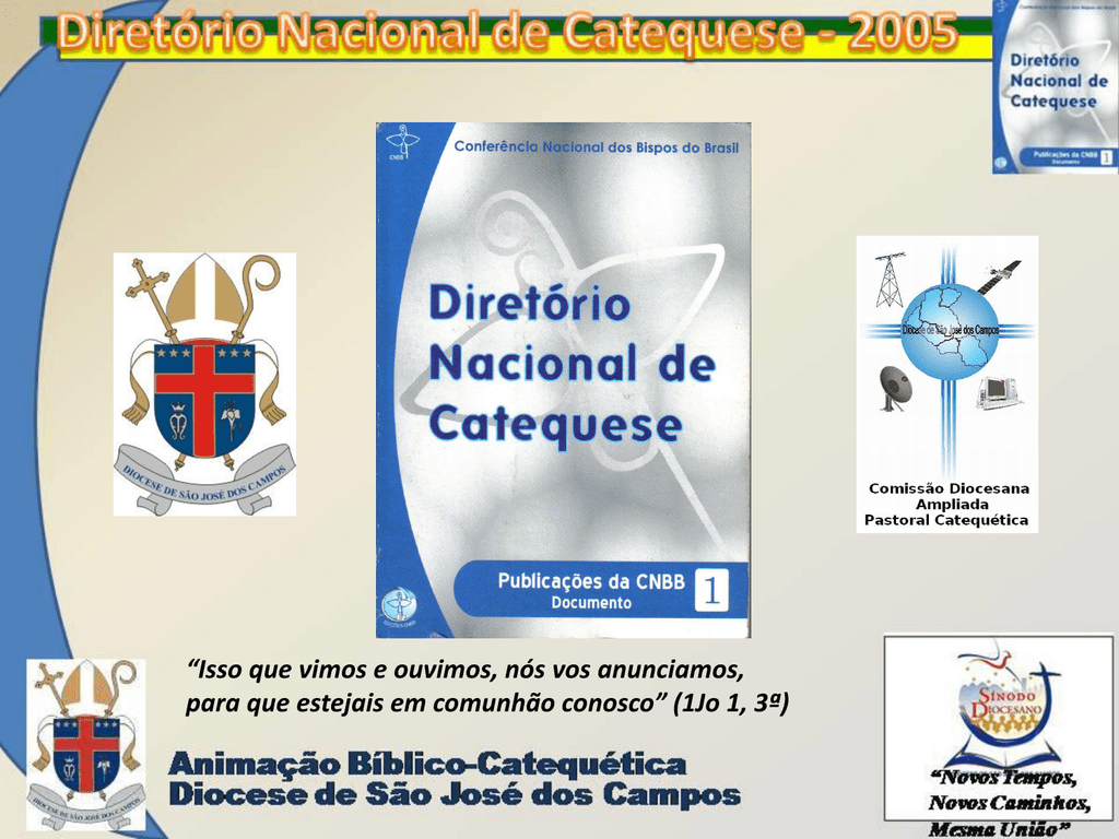 CATEQUESE DE DIRETORIO PARA NACIONAL BAIXAR