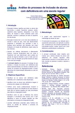 1. Introdução - Pesquisa em Educação