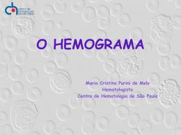 53_O Hemograma - CHSP - Centro de hematologia de São Paulo