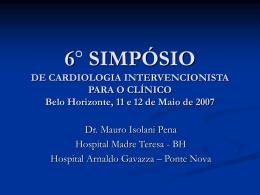 6 simpósio de cardiologia intervencionista para o clínico