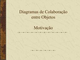 diagrama de colaboração entre objetos