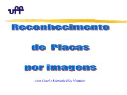 UTILIZAÇÃO DE TÉCNICAS DE PROCESSAMENTO DE IMAGEM