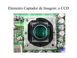 Elemento Captador de Imagem: o CCD