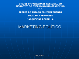 Marketing Político - Capital Social Sul