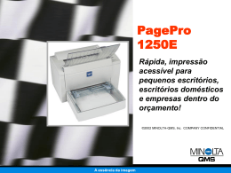 PagePro 1250E - KONICA MINOLTA Global