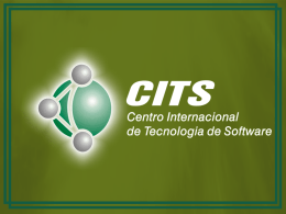 PROJETO RUMO A ISO 9000 CITS