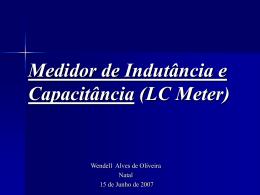 Medidor de Indutância e Capacitância (LC Meter)