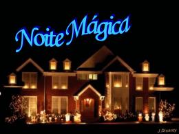 Natal Noite Mágica Mensagem em PPT
