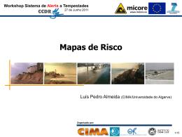 5. Mapas de Risco - CIMA - Universidade do Algarve