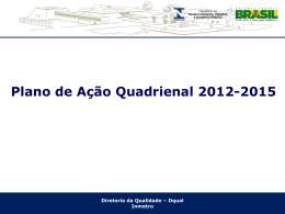 Apresentação Alfredo Lobo - Plano de Ação