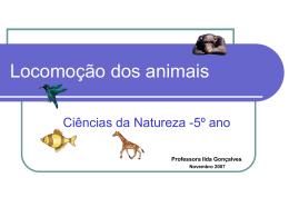 Locomoção dos animais