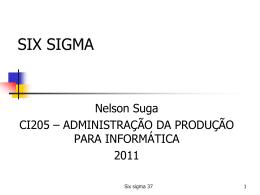 CI205-012-SixSigma2011 - anotacoes-ufpr