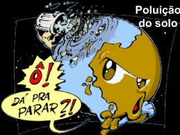 Poluição do solo - Área de Engenharia de Recursos Hídricos