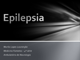 Epilepsia e Anticonvulsivantes