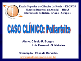 Caso Clínico: Poliartrite