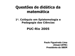 Didática da matemática_PFLima - Maxwell - PUC-Rio