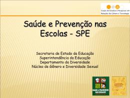 Apresentação - Saúde e Prevenção nas Escolas