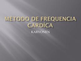 Método de Frequencia Cardíca