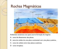 Rochas Magmáticas - gracieteoliveira