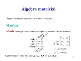 de uma matriz