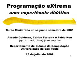 slides in Portuguese - IME-USP