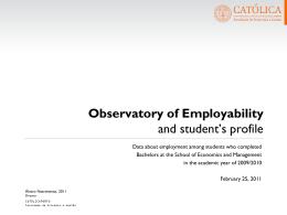 8% - Faculdade de Economia e Gestão