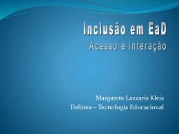 As várias Interatividades nas Tecnologias de Educação a