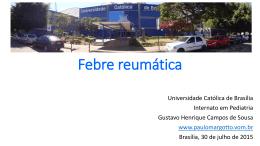 Febre reumática - Paulo Roberto Margotto