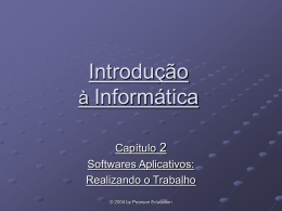 Software Aplicativos