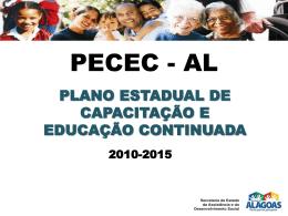 PECEC-AL - Assistência e Desenvolvimento Social