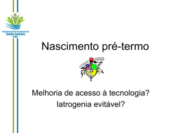 Slide 1 - Movimento BH pelo Parto Normal